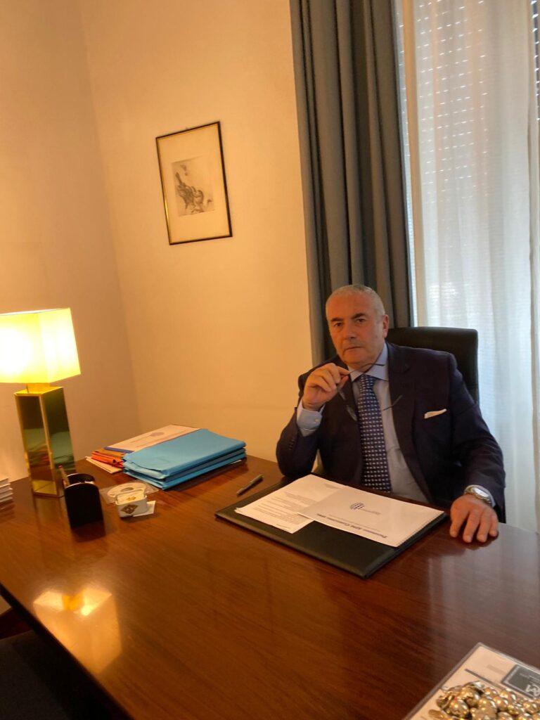 Vincenzo Caprioli Vice Presidente del Movimento delle Libertà