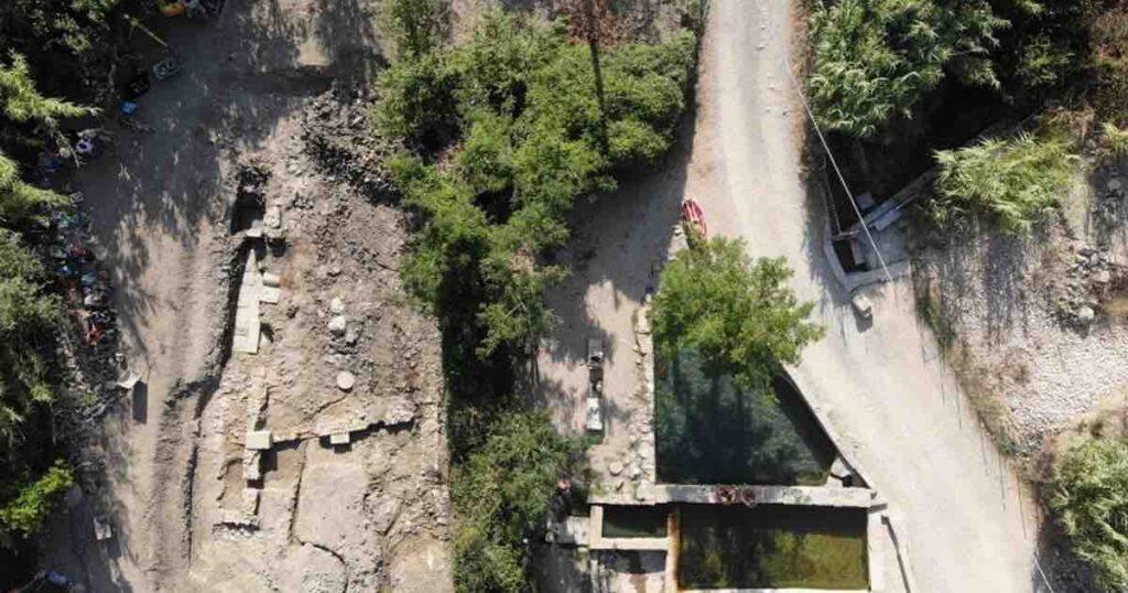 Santuario di epoca romana sommerso: la sorprendente scoperta dal team Archeologico Internazionale a Siena